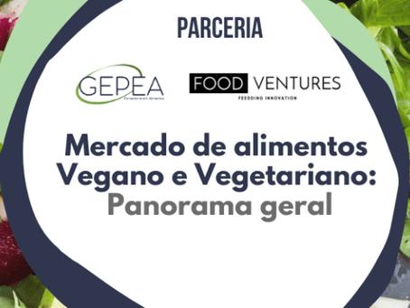 Mercado de alimentos vegano e vegetariano: panorama geral
