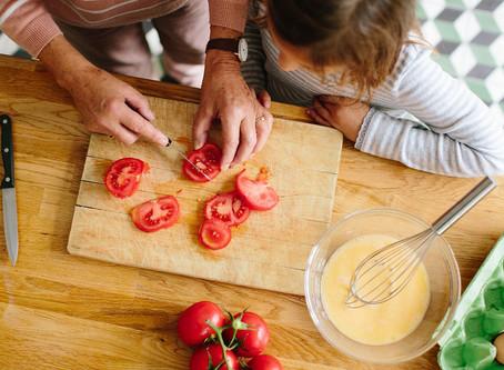 Como cozinhar para/com os filhos durante a quarentena