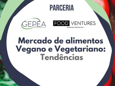 Mercado de Alimentos Vegano e Vegetariano e suas tendências