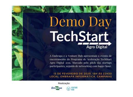 Encerramento do Programa de Aceleração TechStart Agro Digital 2019