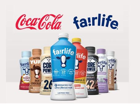 Coca-Cola faz grande investimento no ramo de laticínios