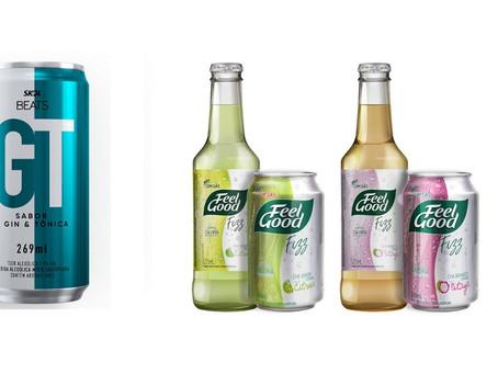 Bebidas levemente gaseificadas ganham espaço nas prateleiras