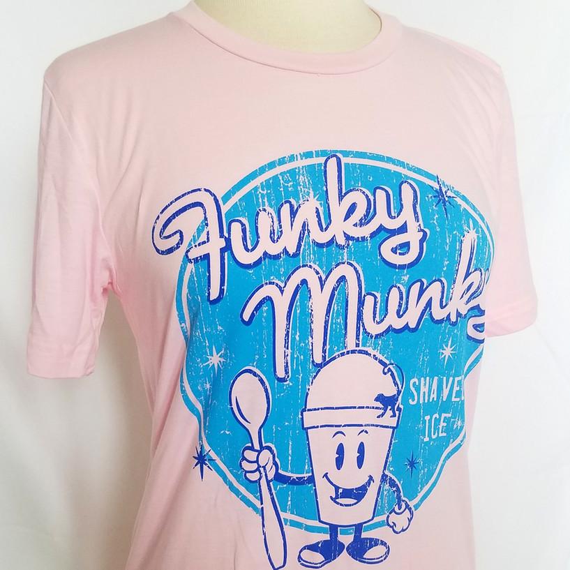 Retro FM Snocone Shirt - Pink
