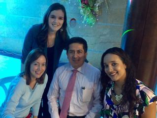 Cena fin de año: Programa de Especialización en Oftalmología, Universidad Del Valle