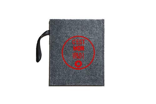 housse ipad logo2 personnalisée