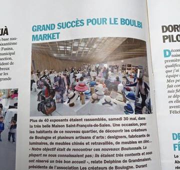 Grand succès du Boulbi Market
