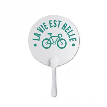éventail personnalisé vélo