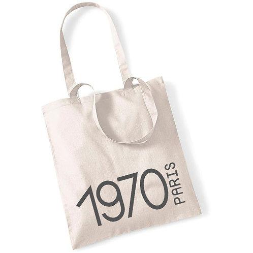 Tote bag en coton année de naissance