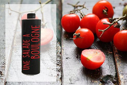 bouteille huile d'olive personnalisé en métal