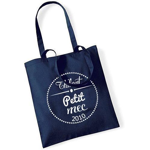 "Tote bag en coton ""petit mec"""