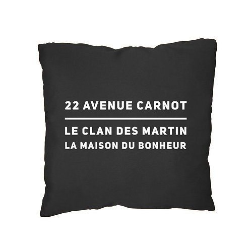coussin 40x40 adresse