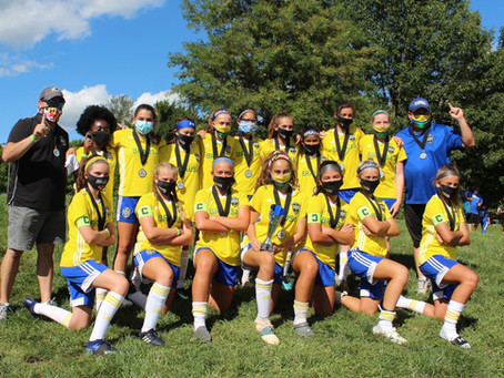 BRAUSA GIRLS BLUE STORM sets the Girls Program on Fire