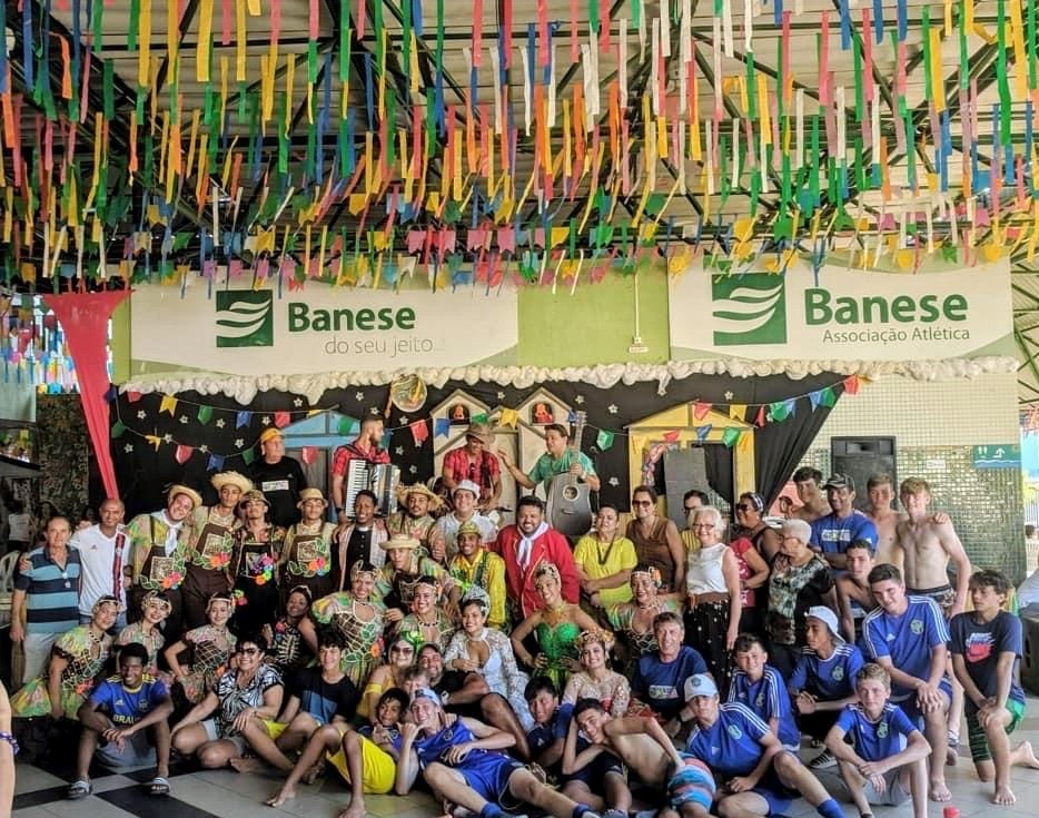 BRAUSA on the dance floor in Brazil.