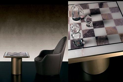Кофейный столик TAU 40 STEEL SCACCHI