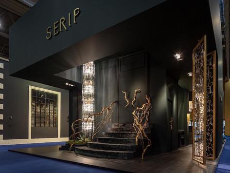 Стенд фабрики Serip на парижской выставке MAISON&OBJET