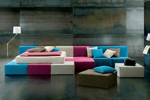 Кровать Tessile QB Italian Urban Style Altrenotti