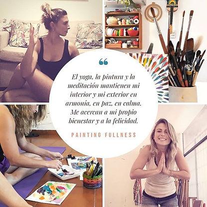 Painting Fullness surge de mi experienci