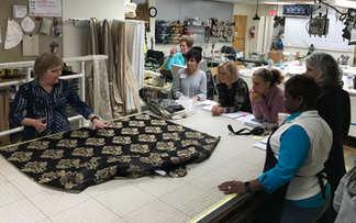 Ann K. Johnson teaching Essential Workroom Skills & Efficiency