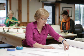 Ann K. Johnson at Workroom Tech in Tryon, NC
