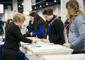 Ann K. Johnson in the Construction Zone at IWCE