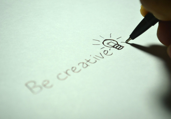 Vivir, escribir, crear, soñar... ¡be creative!