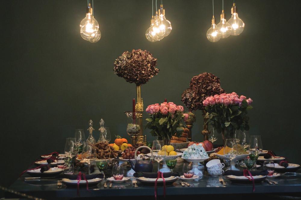 Banquete de boda, buffet