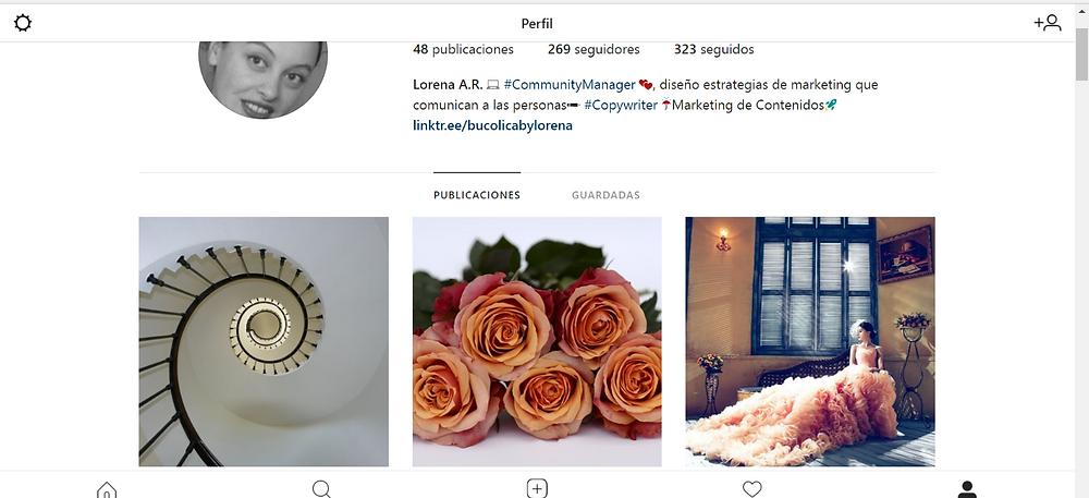 Perfil de Instagram de bucólica | by Lorena A.R.