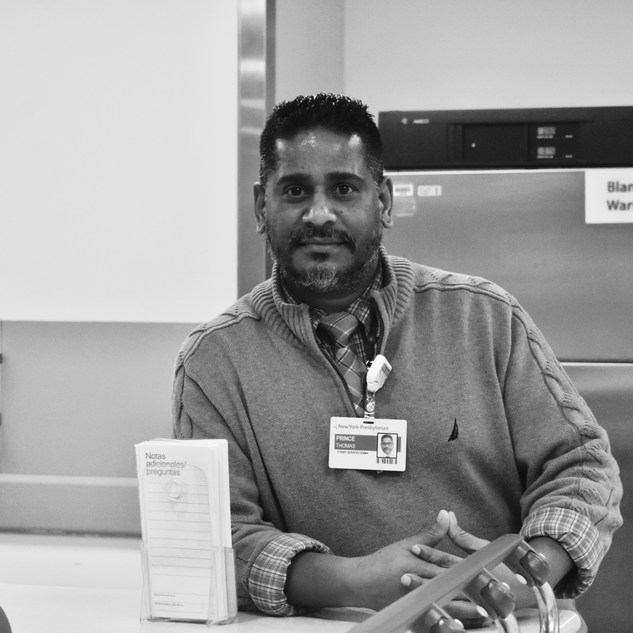 """""""I am inspired everyday by the front liners and the way they show teamwork, care, and compassion. I work for patient services administration in the emergency room. I love my job and I am able to show it especially during these hard times educating people to follow rules and stay safe."""""""