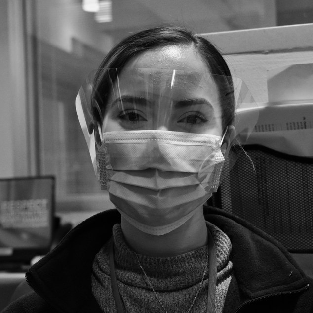 """""""When I started working at NYP 4 months ago, I could never have imagined something like a pandemic affecting our lives. I chose Social Work to help people and that still hasn't changed. Each day brings something different and new emotions, but I'm motivated to help patients, families, and my colleagues in any way that I can."""""""