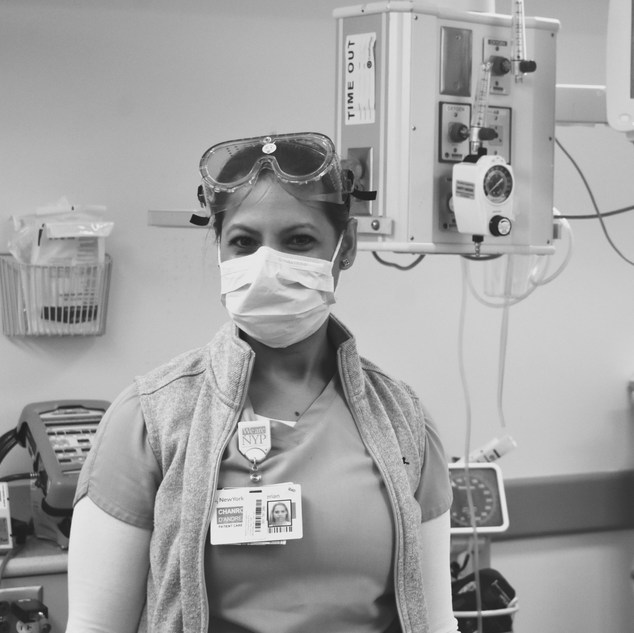 """""""I have been working in the ED for the past 8 years as an ED tech. I haven't faced anything like this before. But what I do know is that I am proud to be working with this amazing team and we are going to fight this together."""""""