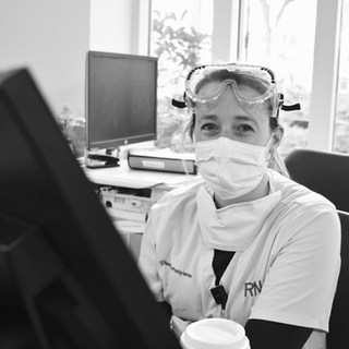 """""""I'm proud to be a part of this amazing team of human beings during this pandemic. We are in this together, we will fight together. Surviving Hurricane Sandy on the frontlines of the ED taught me the importance of camaraderie and teamwork in times of tragedy and hardship. We got this."""""""