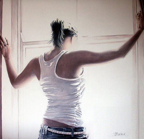 Anticipation By Jonathan Brier Alkyd Oil Painting Wall Art Sold Artwork
