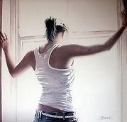 Anticioation Jonathan Brier Art, Modern Realism, Figurative Realism, Abstract Figurative Realism, Figurative Oil Painting, Figurative Artwork, Realist Artwork, Figurative Fine Artwork UK, Contemporary Artwork, Realism Oil Paintings, Figurative Paintings