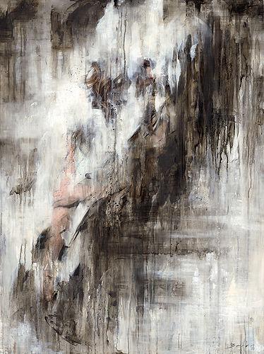 Lost Original Alkyd Oil Painting by UK Figurative Artist Jonathan Brier  Art Broken Realism Artwork