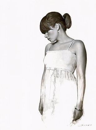 White Dress Study No. 1