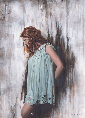 All that remains Alkyd Oil Painting by UK Figurative Artist Jonathan Brier  Art Broken Realism Artwork