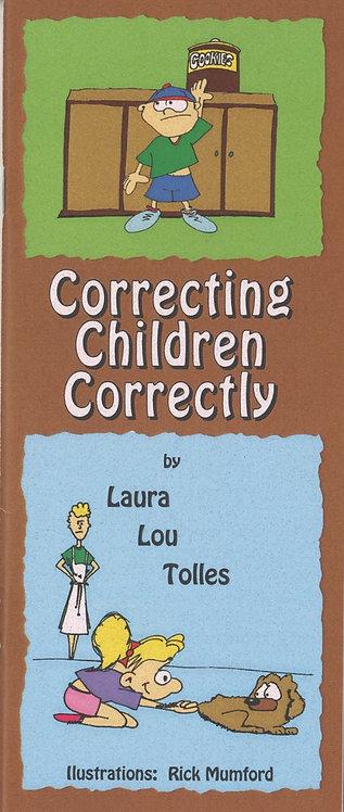 Correcting children correctly