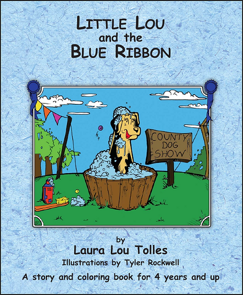 Little Lou and the blue ribbon