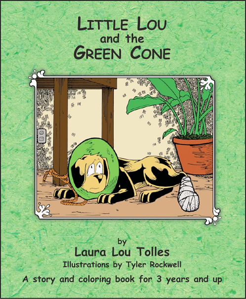 Little Lou and the green cone