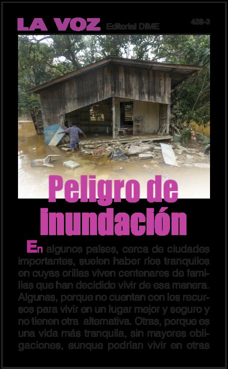 Peligro de inundación (25 ejemplares)