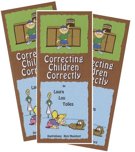 Correcting children correctly (20 copies)