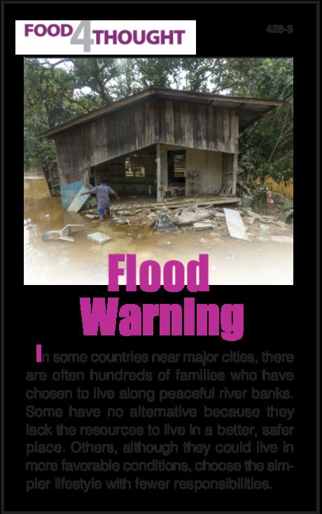 Flood Warning (25 copies)