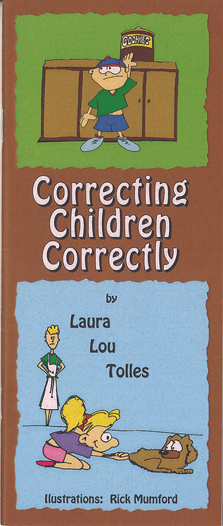 Correcting children correctly