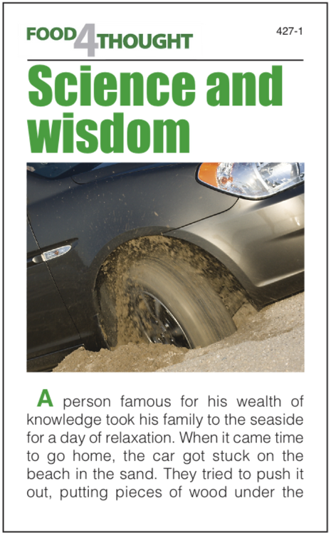 Science and wisdom (25 copies)