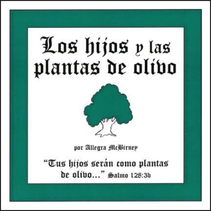 Los hijos y las plantas de olivo
