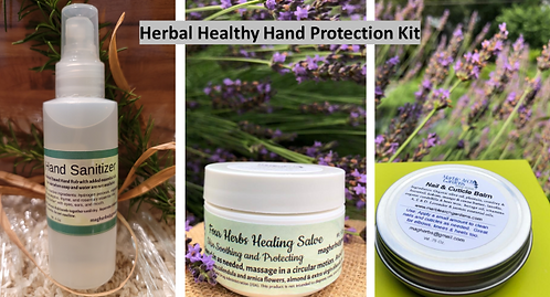 Herbal Hand Protection Kit