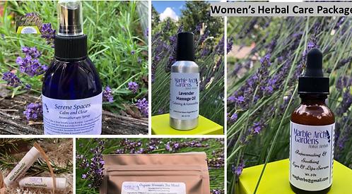 Women's Herbal Care Package