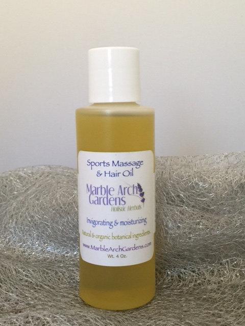 Sports Massage & Hair Oil