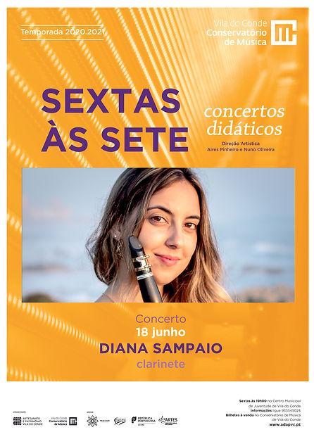 18 junho - Diana Sampaio - Sextas às set