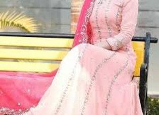 Press-Punjabi Suit Lady